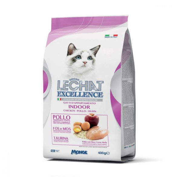 Lechat Excellence 400g Indoor - csirke