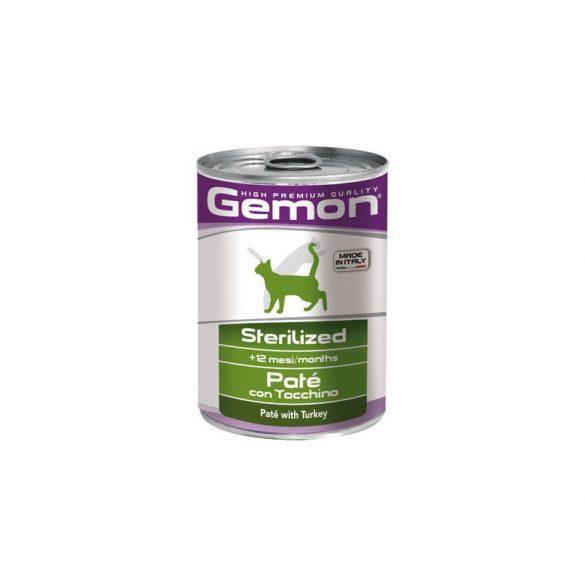 Gemon Cat 400g Pate Steril Pulyka