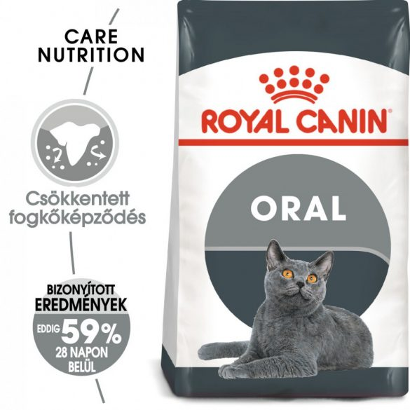 ROYAL CANIN ORAL CARE 8kg Macska száraztáp