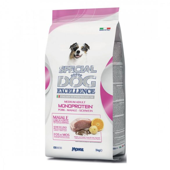 Special Dog Excellence Médium Sertés 3kg