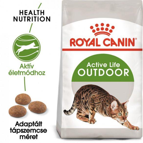 ROYAL CANIN OUTDOOR 30 4kg Macska száraztáp