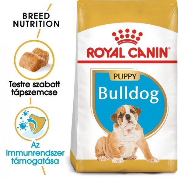 ROYAL CANIN BULLDOG PUPPY 12kg Száraz kutyatáp
