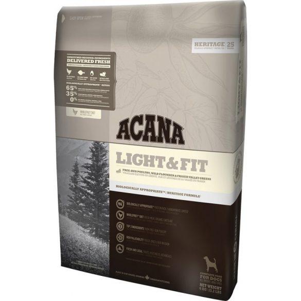 Acana Light&Fit 11,4kg