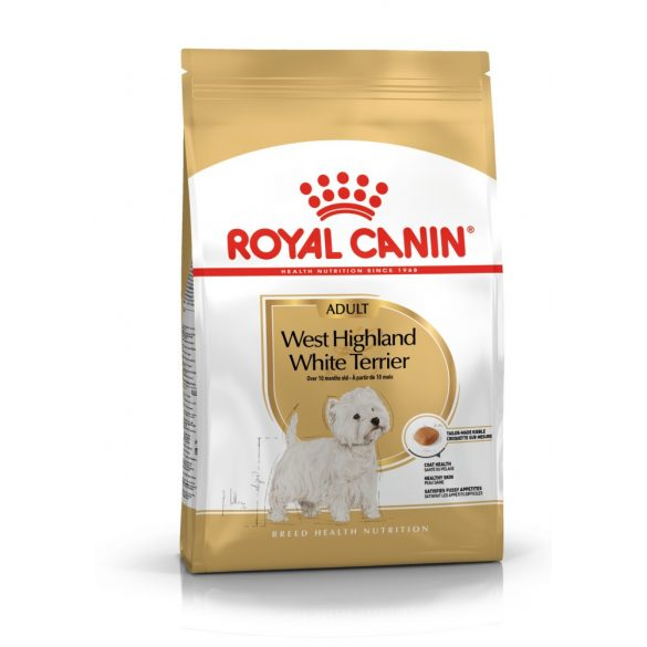 ROYAL CANIN WEST HIGHLANDER WHITE TERRIER ADULT 1,5kg Száraz kutyatáp
