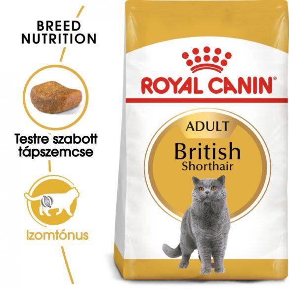 ROYAL CANIN BRITISH SHORTHAIR ADULT 10kg Macska száraztáp
