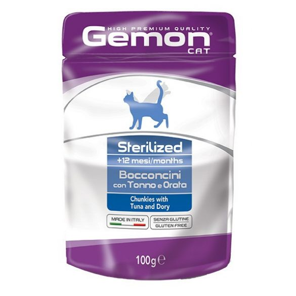 Gemon Cat 100g Alutasak Steril