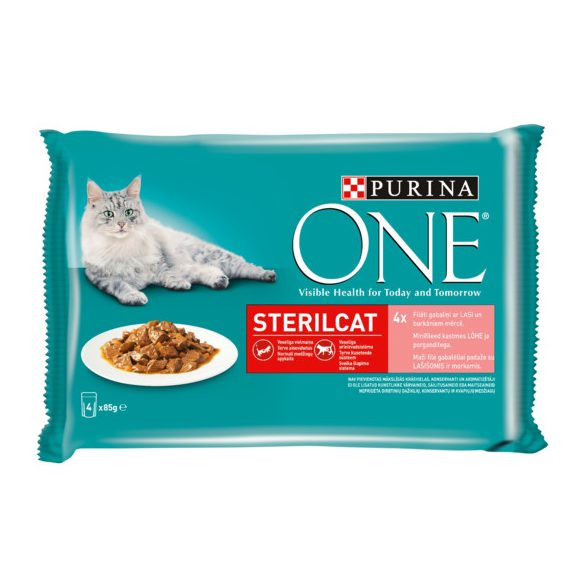 Purina One 4x85g Steril Hal