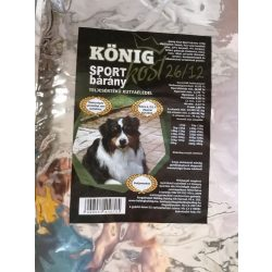 KÖNIG Sport száraz kutyaeledel - bárány - 15kg
