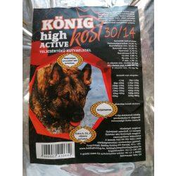 KÖNIG High ACTIVE száraz kutyaeledel - 15kg