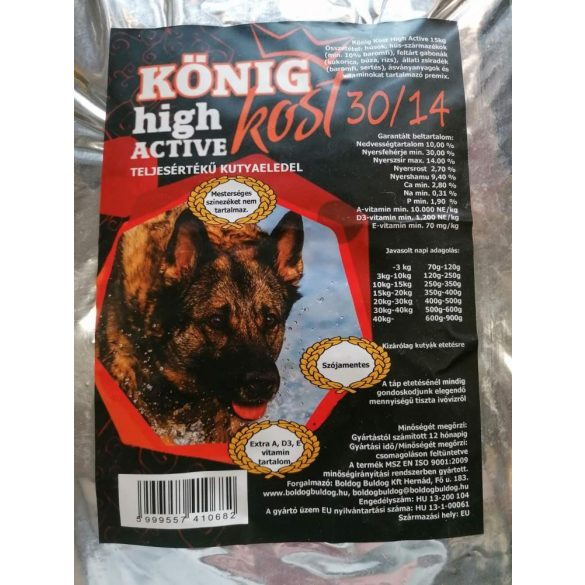 König Kost High Active 15kg