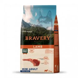 Bravery 7kg Small Bárány száraz kutyatáp