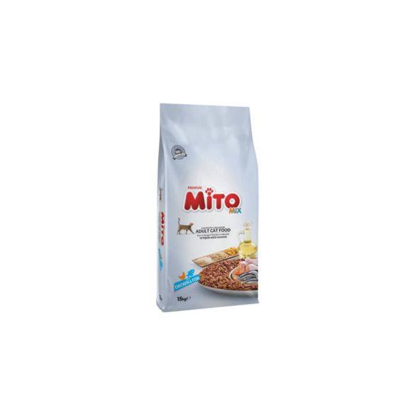 Mito Mix Color Cat 15kg Csirke Száraz macskaeledel