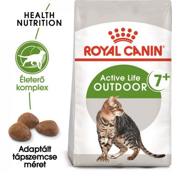 ROYAL CANIN OUTDOOR 7+ 400g Macska száraztáp