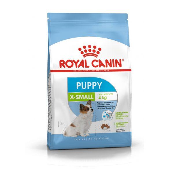 ROYAL CANIN X-SMALL PUPPY 500g Száraz kutyatáp