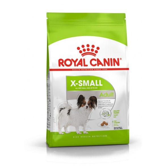 ROYAL CANIN X-SMALL ADULT 1,5kg Száraz kutyatáp