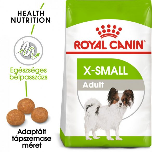ROYAL CANIN X-SMALL ADULT 3kg Száraz kutyatáp