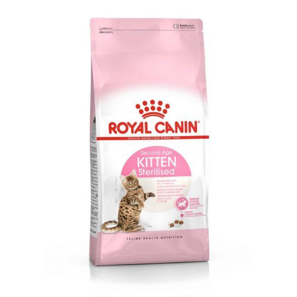 ROYAL CANIN KITTEN STERILISED 2kg Macska száraztáp