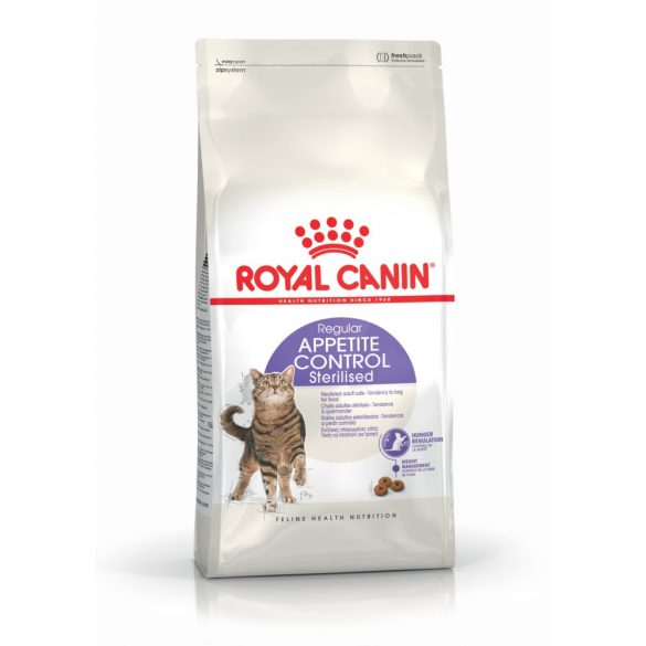 ROYAL CANIN STERILISED APPETITE CONTROL 4kg Macska száraztáp