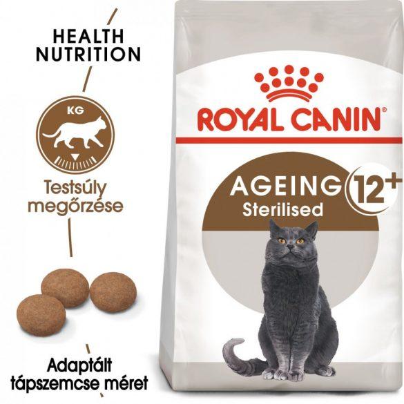 ROYAL CANIN AGEING STERILISED 12+ 4kg Macska száraztáp