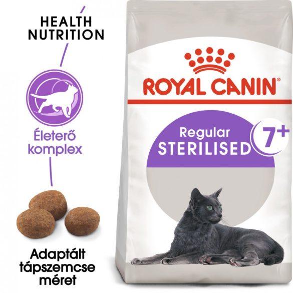 ROYAL CANIN STERILISED 7+ 10kg Macska száraztáp
