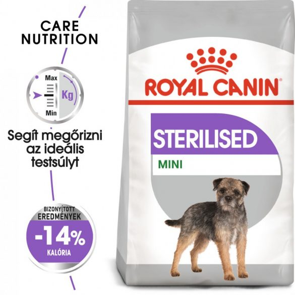 ROYAL CANIN MINI STERILISED 8kg Száraz kutyatáp