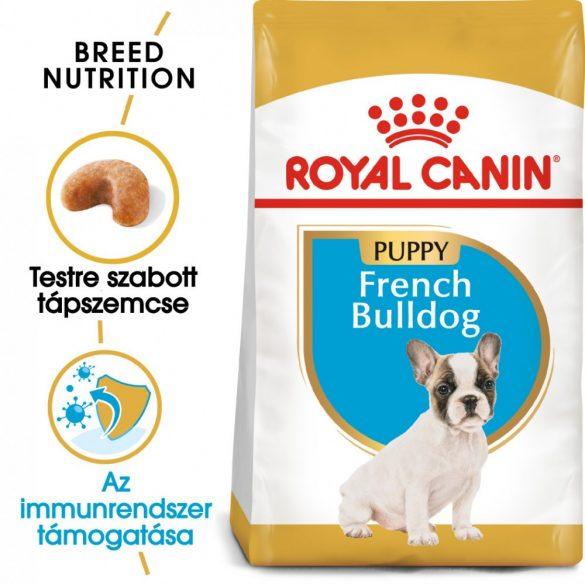 ROYAL CANIN FRENCH BULLDOG PUPPY 3kg Száraz kutyatáp
