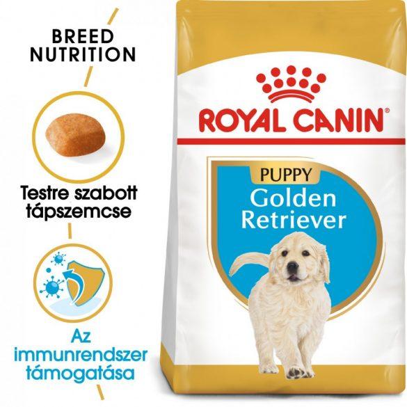 ROYAL CANIN GOLDEN RETRIEVER PUPPY 12kg Száraz kutyatáp