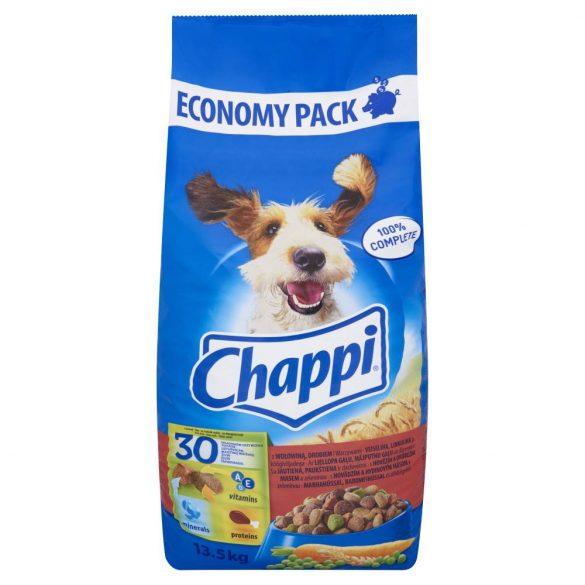 Chappi 13,5kg Marha + Baromfi + Zöldség
