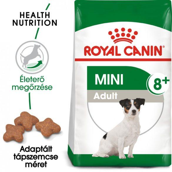 ROYAL CANIN MINI ADULT 8+ 8kg Száraz kutyatáp