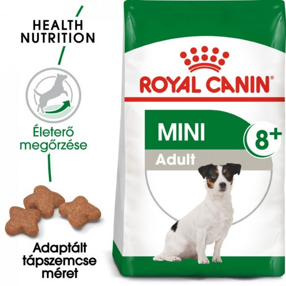 ROYAL CANIN MINI ADULT 8+ 800g Száraz kutyatáp