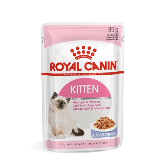 ROYAL CANIN KITTEN JELLY 12x85g Alutasakos macskaeledel