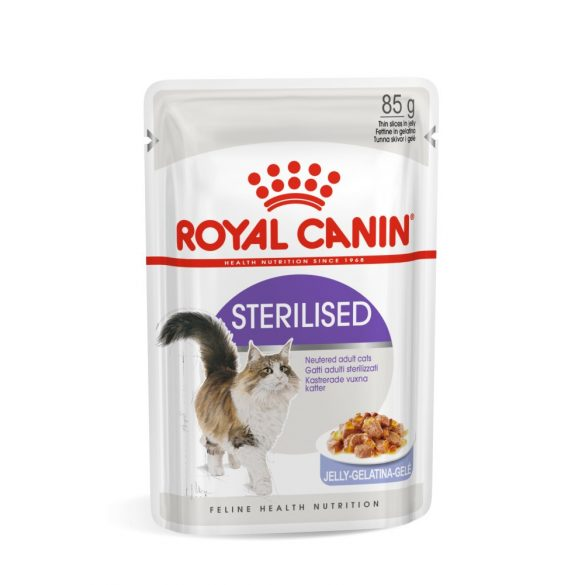 ROYAL CANIN STERILISED JELLY 12x85g Alutasakos macskaeledel