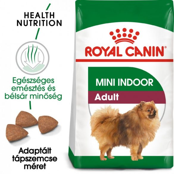 ROYAL CANIN MINI INDOOR ADULT 500g Száraz kutyatáp