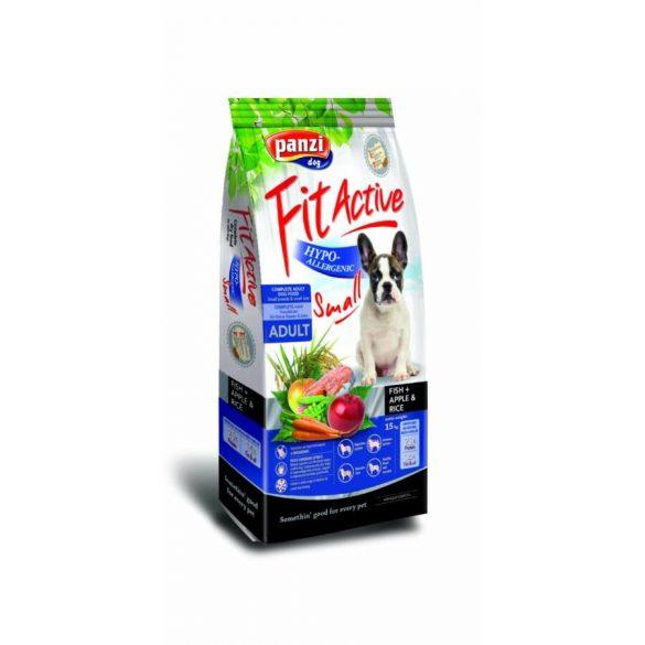 Panzi FitActive Hypoallergenic Small Fish, Apple & Rice 15kg