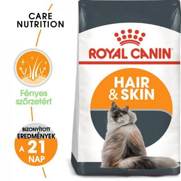 ROYAL CANIN HAIR & SKIN CARE 400g Macska száraztáp