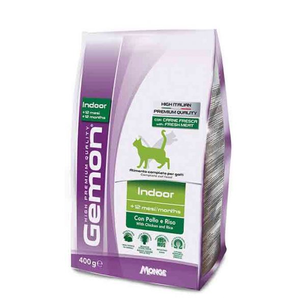 Gemon Cat 400g száraz Indoor