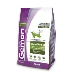 Gemon Cat 400g száraz Steril (pulyka)