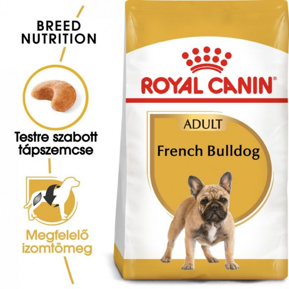 ROYAL CANIN FRENCH BULLDOG ADULT 9kg Száraz kutyatáp