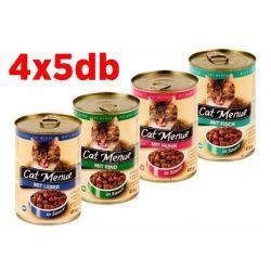 Cat Menü Macska konzerv MIX 20x415g