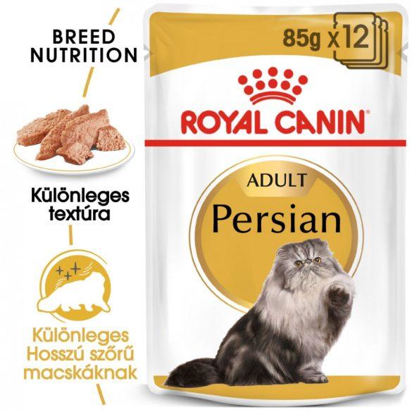 ROYAL CANIN PERSIAN ADULT 12x85g Alutasakos macskaeledel