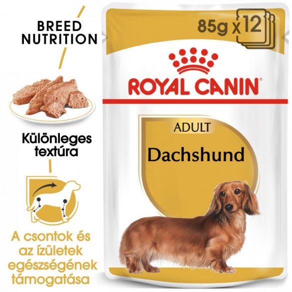 ROYAL CANIN DACHSHUND ADULT 12x85g Alutasakos kutyaeledel