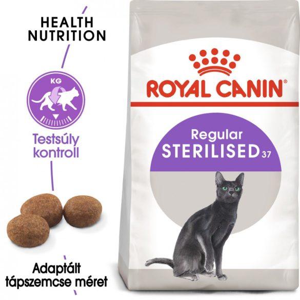 ROYAL CANIN STERILISED 37 10+2kg Macska száraztáp