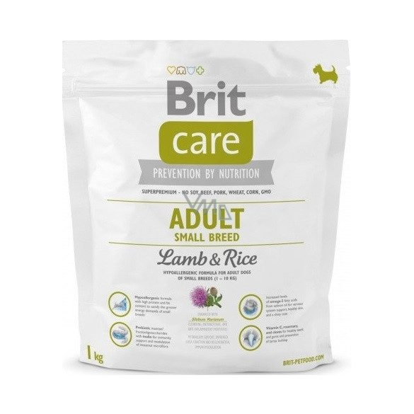 Brit Care Adult Small Lamb 1kg