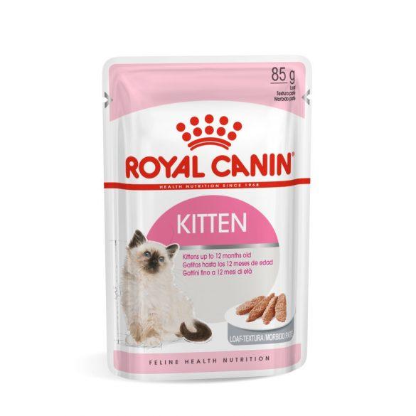 ROYAL CANIN KITTEN LOAF 12x85g Alutasakos macskaeledel