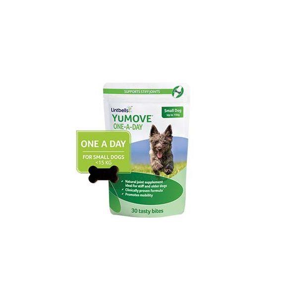 YuMOVE 30 falatka kis testű kutyáknak 15kg-ig