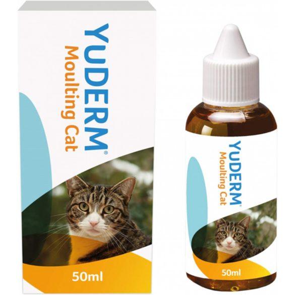 YuDERM Moulting Cat 50ml Szőr- és bőrápolás cicáknak