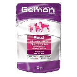 Gemon Dog Alutasak 100g Marha