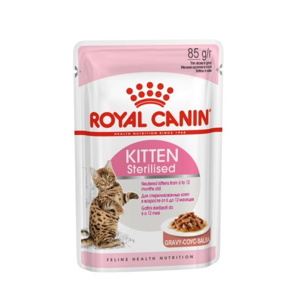 ROYAL CANIN FHN KITTEN STERILISED (12*85g) (1,02kg)