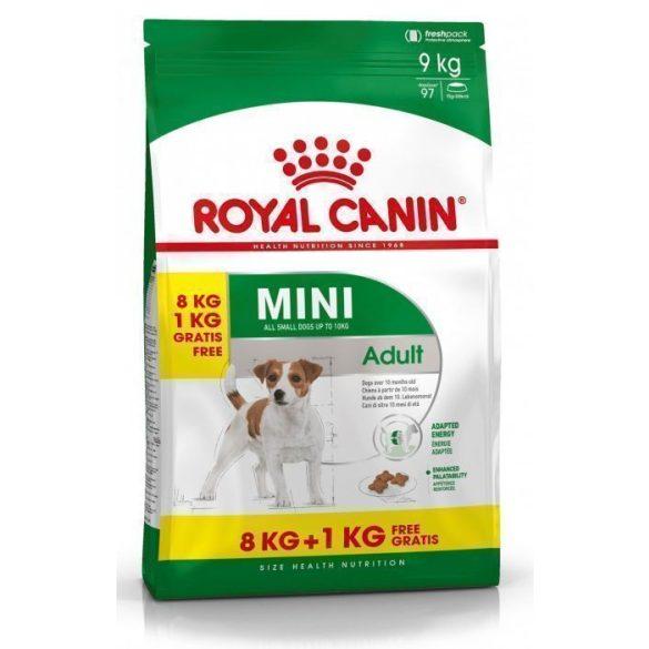ROYAL CANIN MINI 1-10 kg ADULT 8+1 kg Száraz kutyatáp