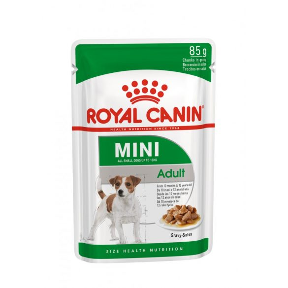 ROYAL CANIN SHN WET MINI ADULT 12x85g Alutasakos kutyaeledel